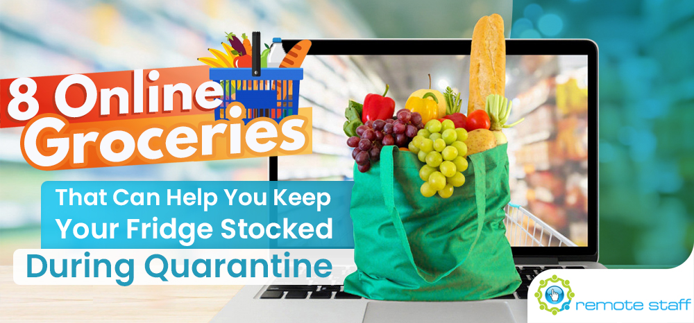 Eight Online Groceries That Can Help You Keep Your Fridge Stocked During Quarantine