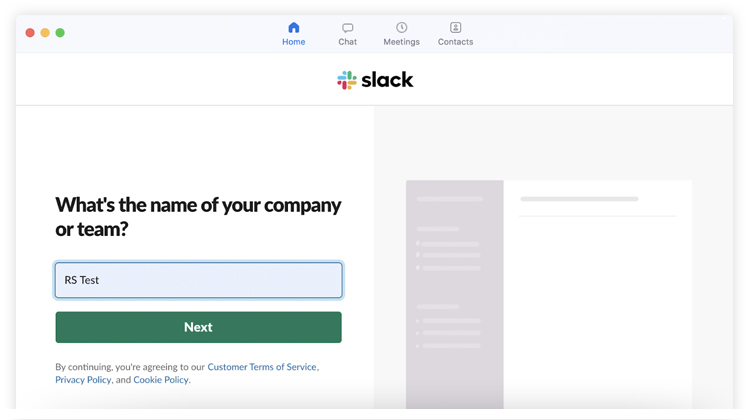 Creating a Slack Workspace-3