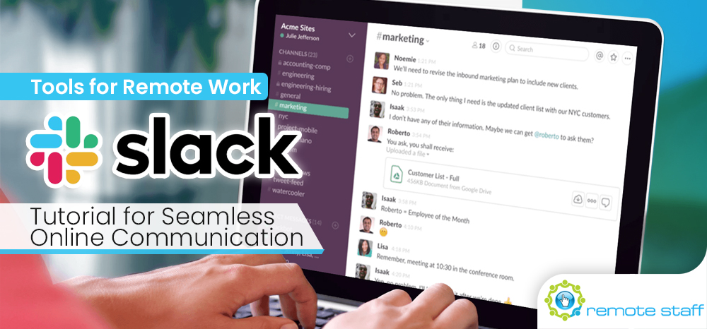 Tools for Remote Work- Slack Tutorial for Seamless Online Communication