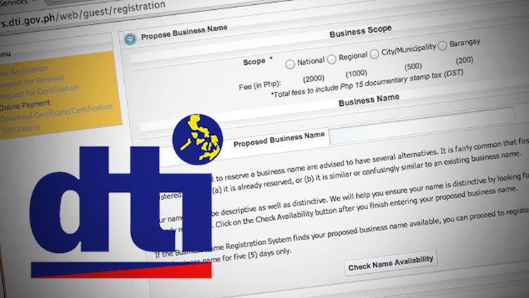 1-Register with either DTI or SEC