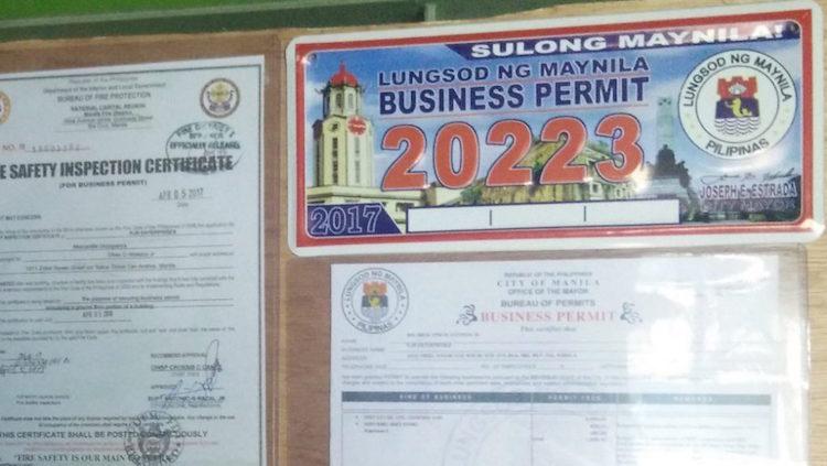 5-Get a mayor's permit