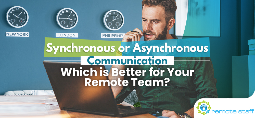 Synchronous or Asynchronous Communication- Which is Better for Your Remote Team_