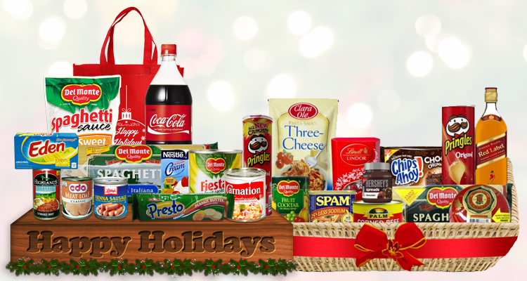 Groceries-for-a-Christmas-dinner