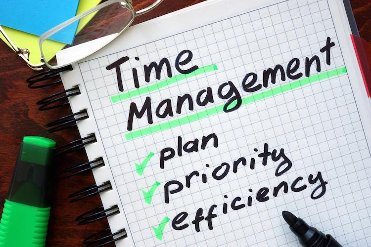 Excellent-time-management-skills