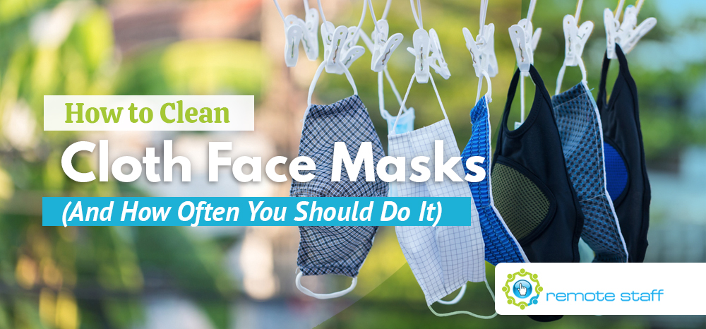 How to Clean Cloth Face Masks (And How Often You Should Do It)