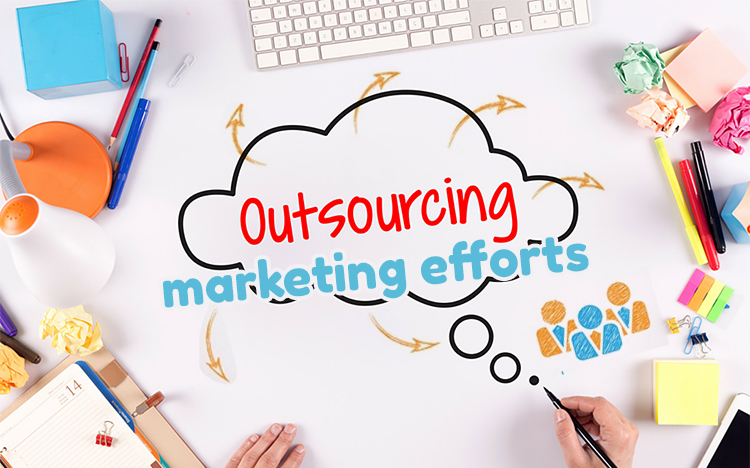 1 Outsourcing the majority of your marketing efforts