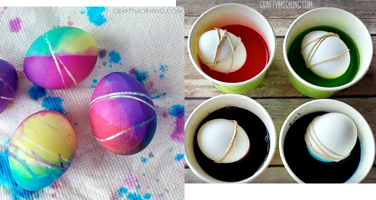 5 Rubber Band Eggs