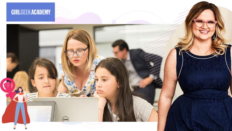 6 Sarah Moran (Girl Geek Academy)