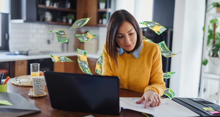 1 The WFH set-up allows SAHM's (stay-at-home mothers) to earn their own money
