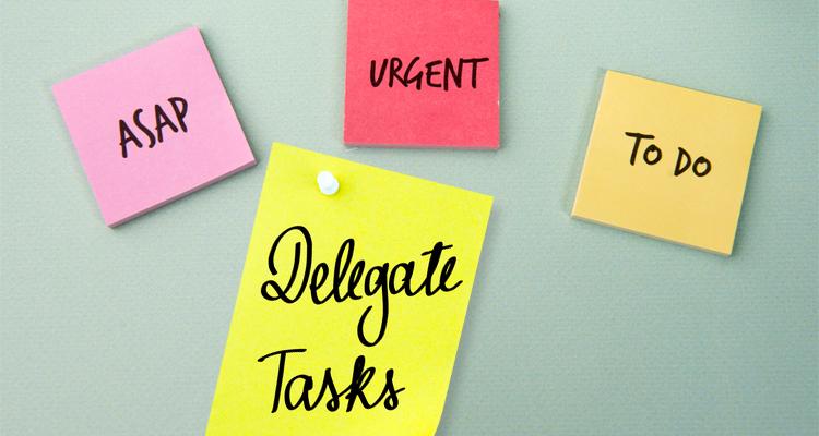 2 Delegating tasks to professionals helps entrepreneurs streamline