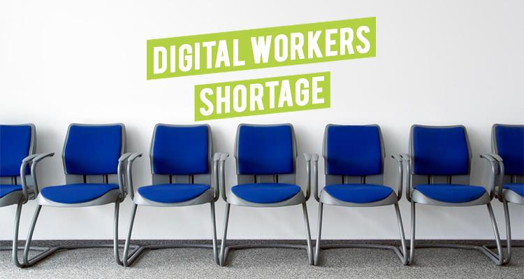 Digital Workers Shortage