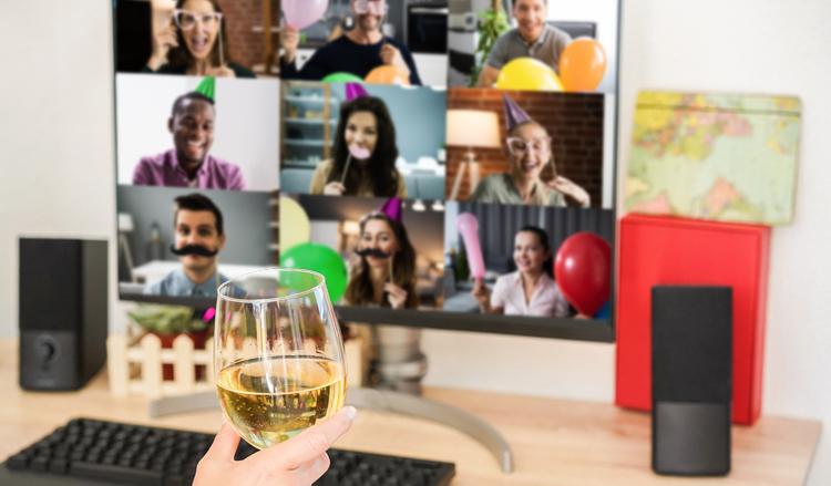 Organise virtual parties
