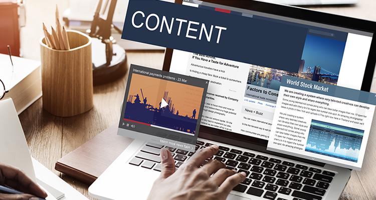 Update your website content