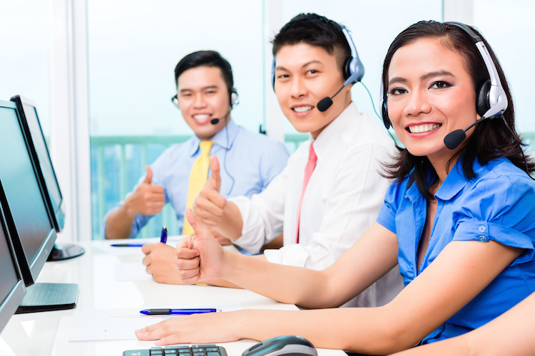 A highly responsive customer service team