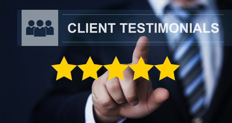 Favorable reviews from previous clients