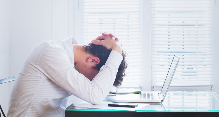 Higher risk for stress and burnout