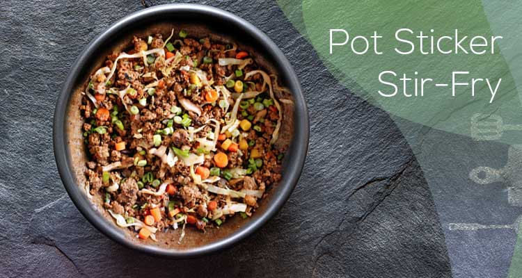 Pot Sticker Stir-Fry
