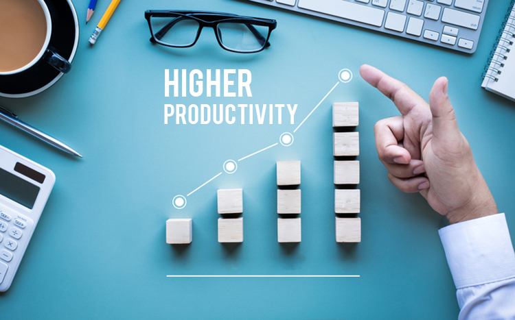 Higher productivity with help of executive assistants