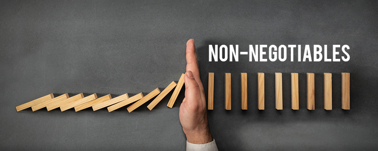 Establish-your-non-negotiables