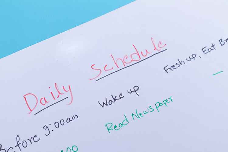Stick-to-a-healthy-schedule