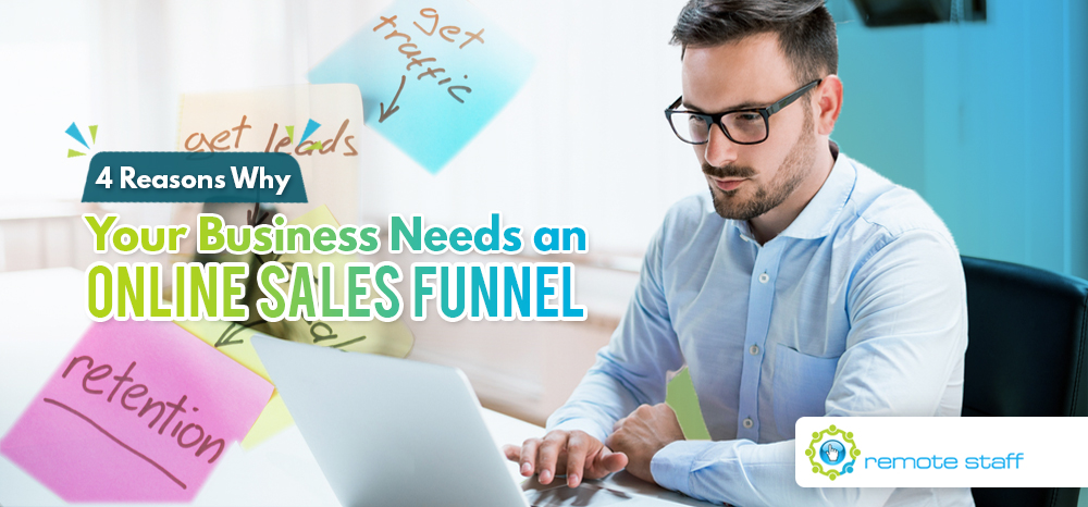 Four Reasons Why Your Business Needs an Online Sales Funnel