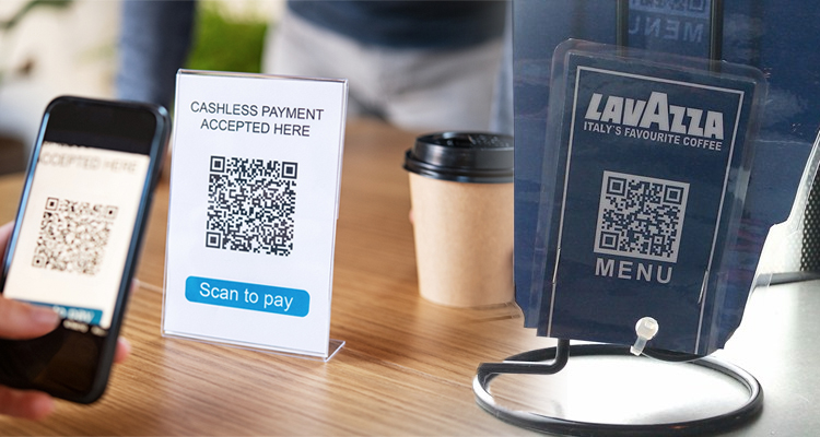 Machines with QR Codes