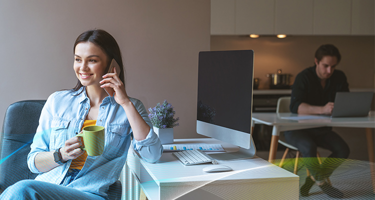 Work With Others Who Are Also Working At Home