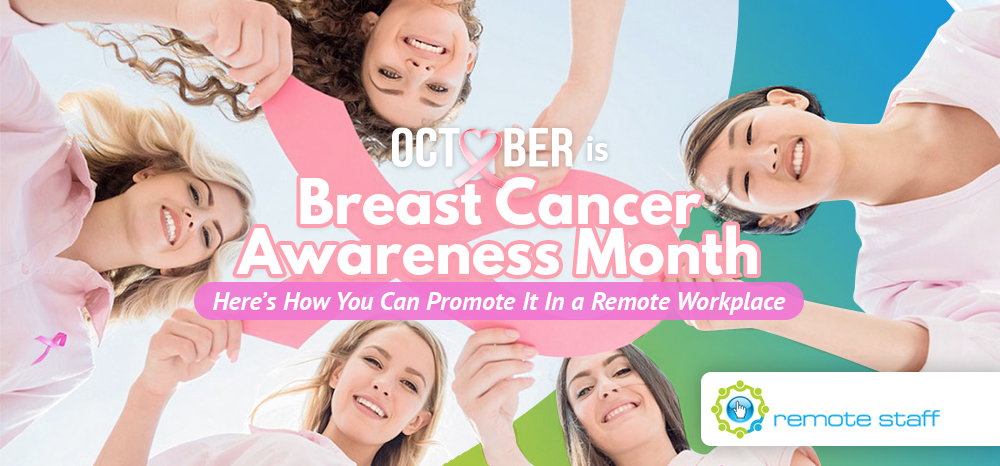 October Is Breast Awareness Month- Here's How You Can Promote It In A Remote Workplace